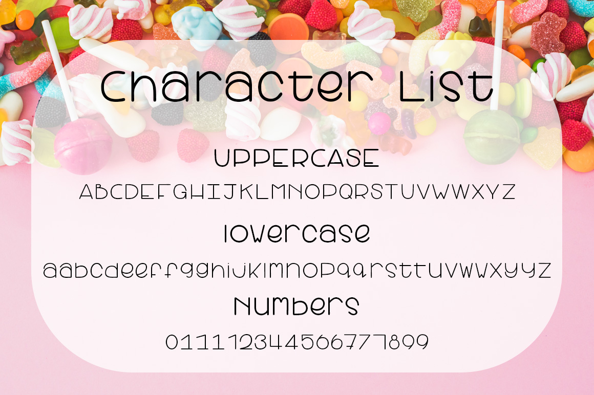 Candy Apple | A Cute and yummy font example image 2