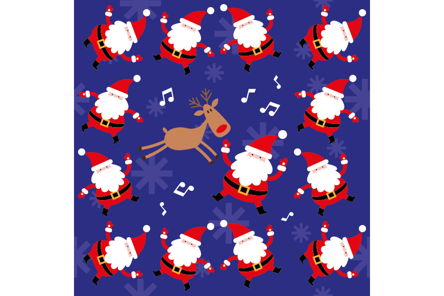 Christmas Patterns Collection. 12 of the jpeg files in resolution 4167*4167 px and 12 files eps8. example image 12