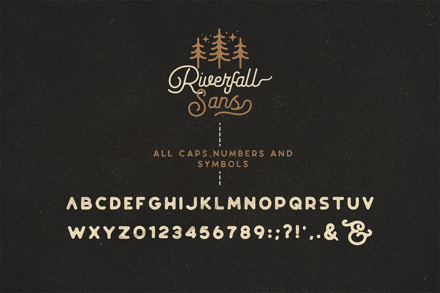 Riverfall Rounded Script and Sans 4 Typeface Ver.1 example image 5