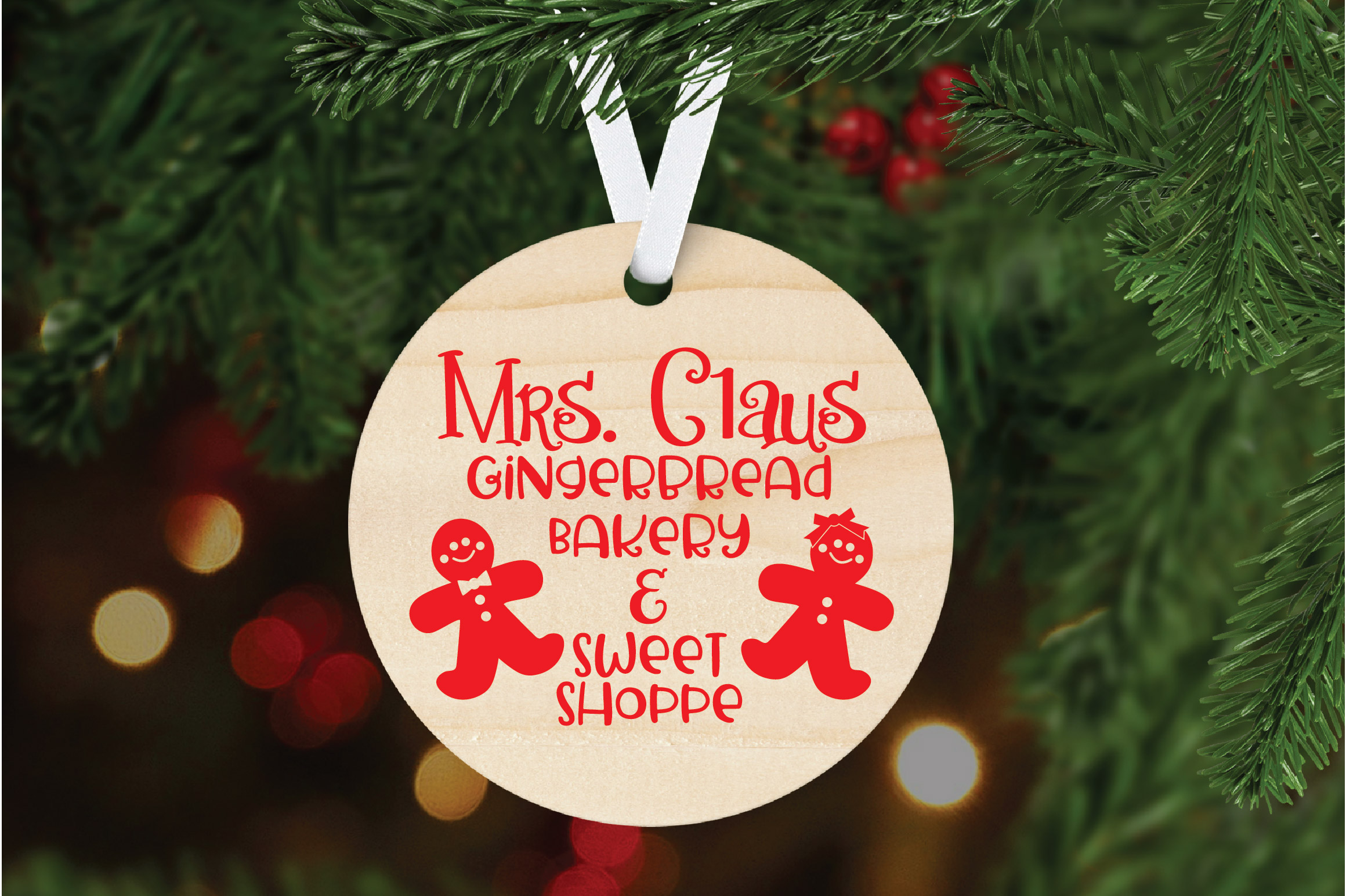 Christmas SVG Cut File - Gingerbread Bakery SVG DXF PNG EPS example image 6