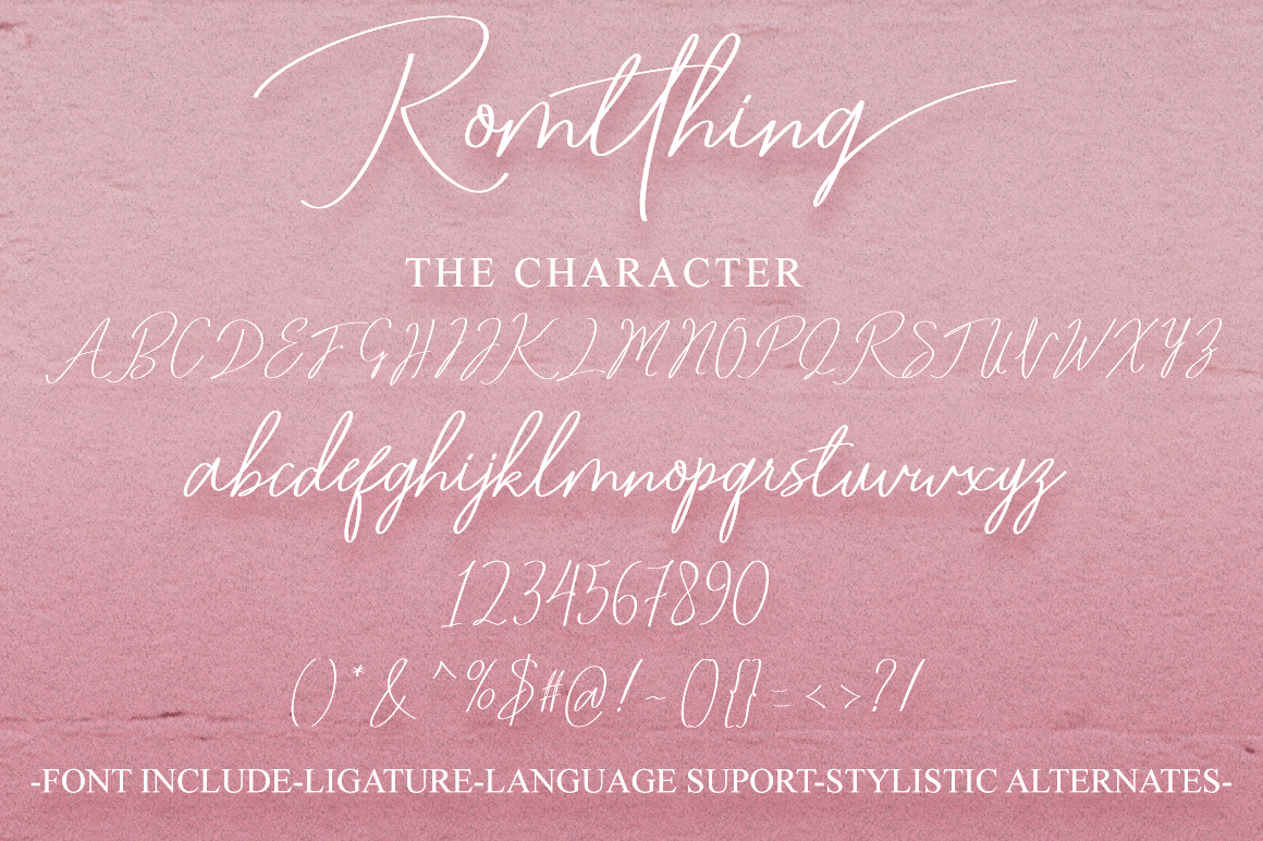 Romtthing Girl - Signature Stylish example image 8