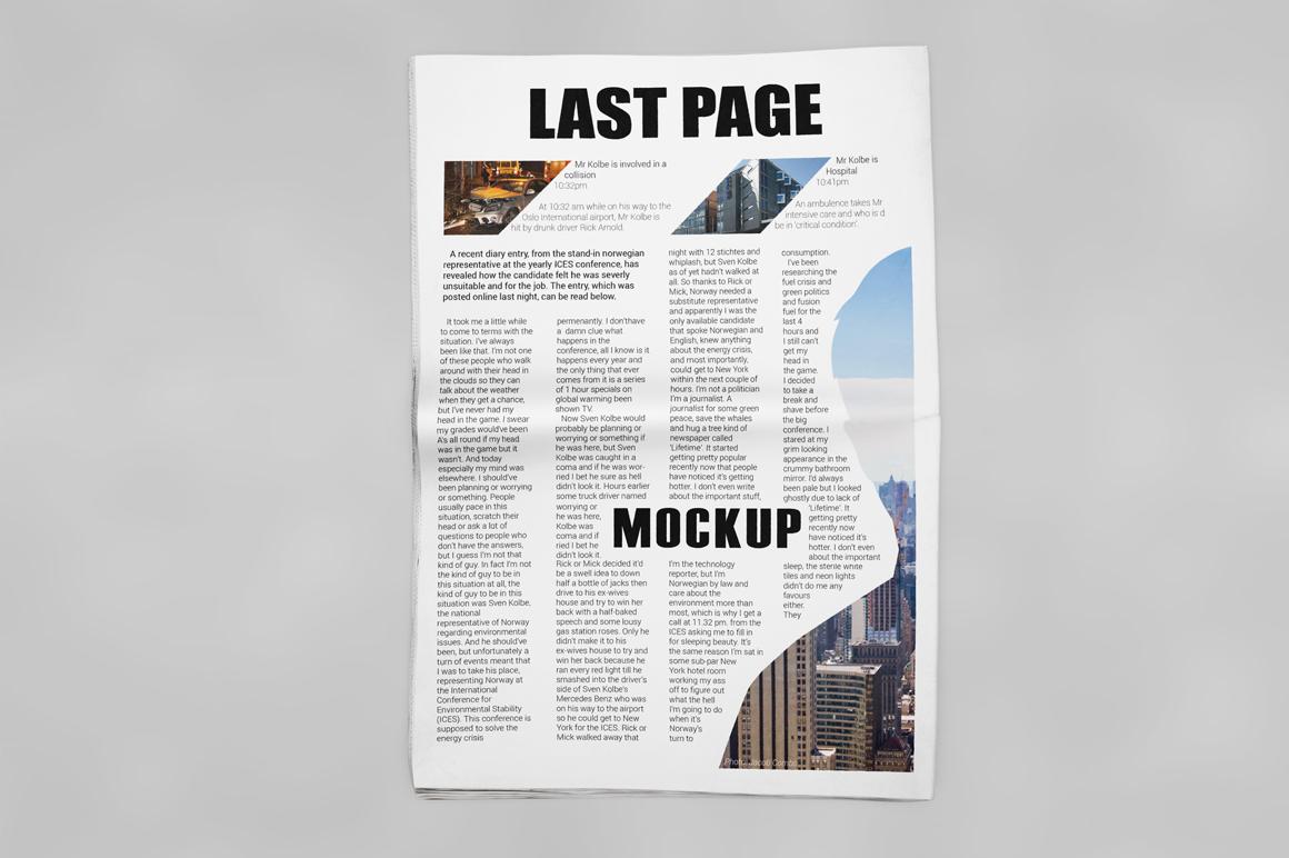 Newspaper Mockup example image 10