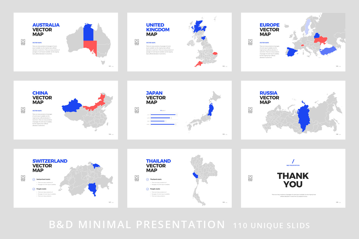B&D-Powerpoint & Keynote Template example image 13
