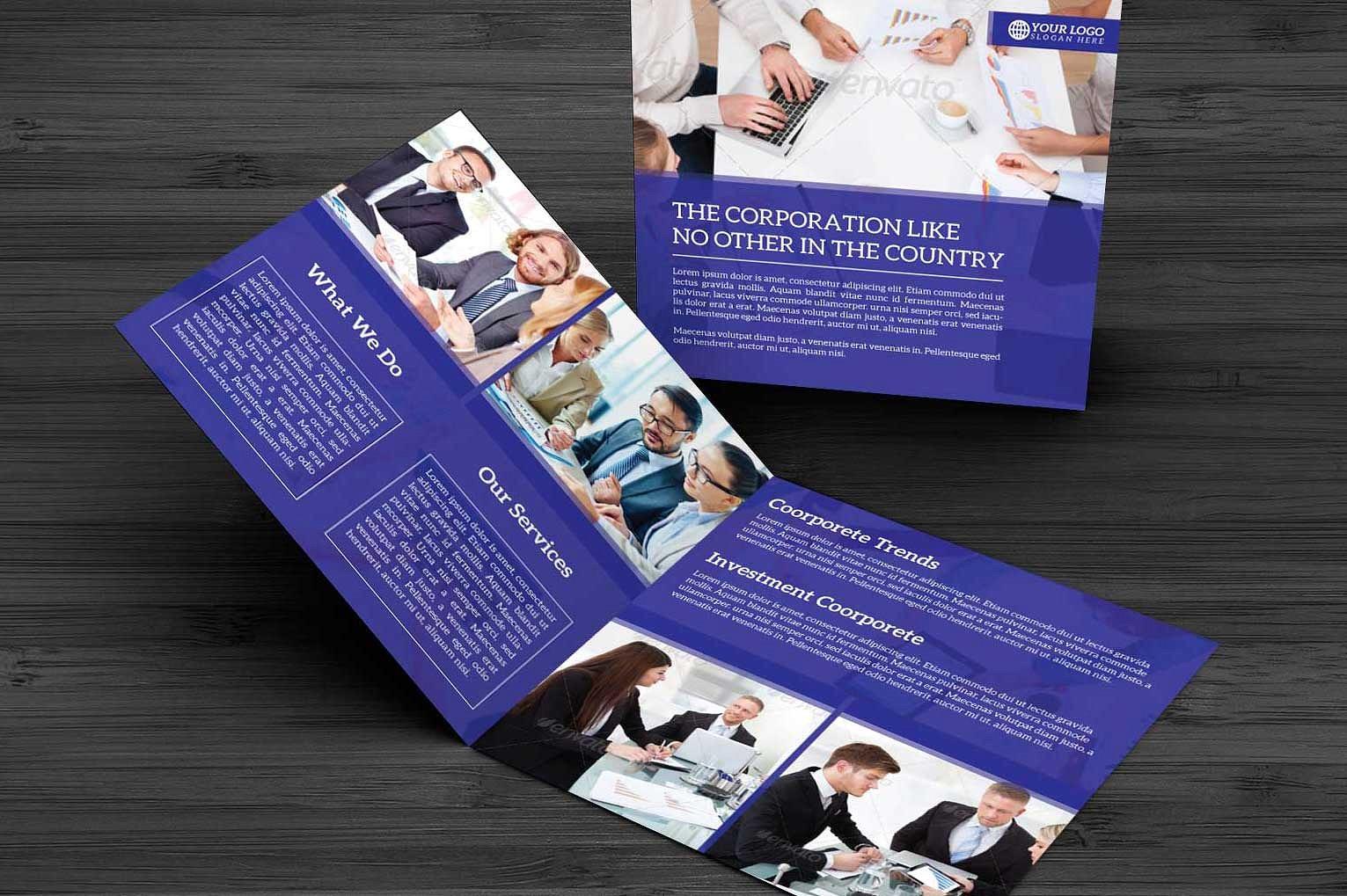 Bifold Corporate Brochure example image 3
