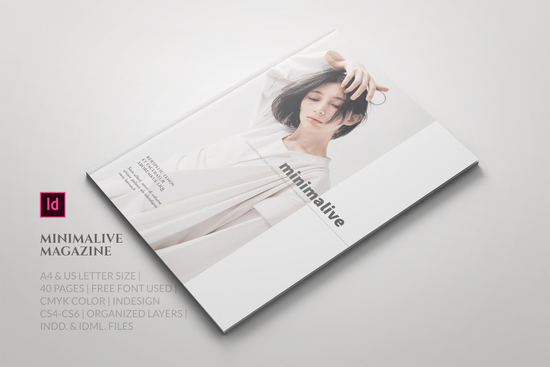 Minimalive Magazine example image 1