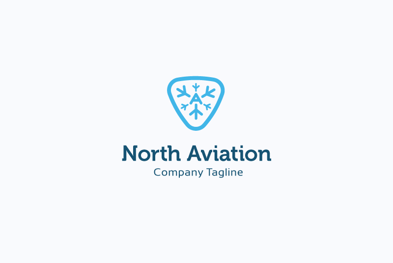 North Aviation Logo example image 1