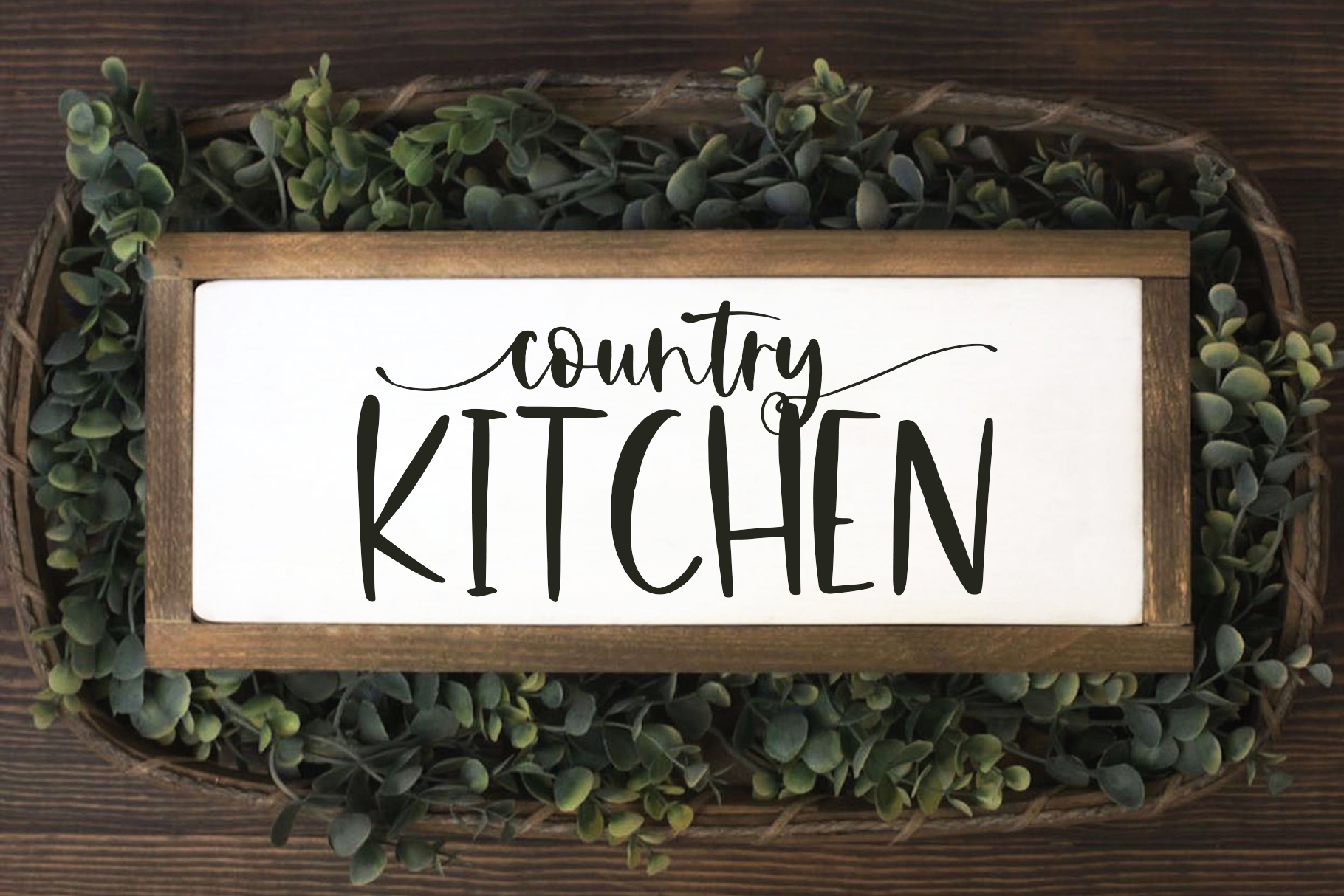 Countryside Farmhouse - A Font Duo with Doodles example image 6