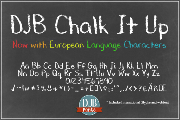 DJB Chalk It Up example image 2