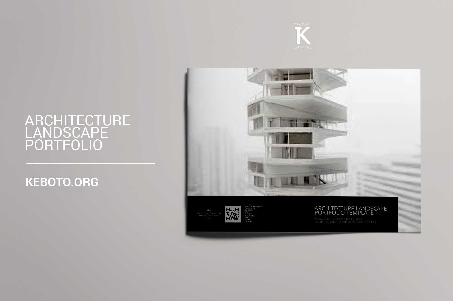 Architecture Landscape Portfolio example image 1