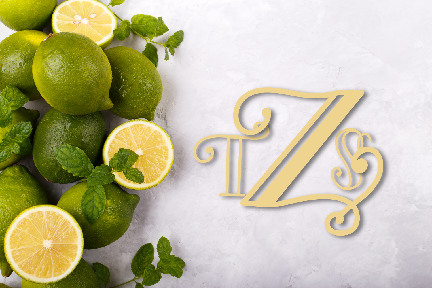 Intially - A Hand Lettered Monogram Font example image 4
