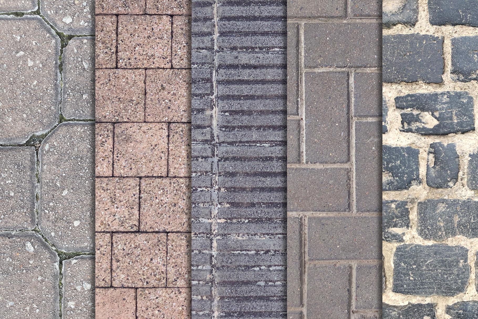 Street Floor Textures x10 example image 2