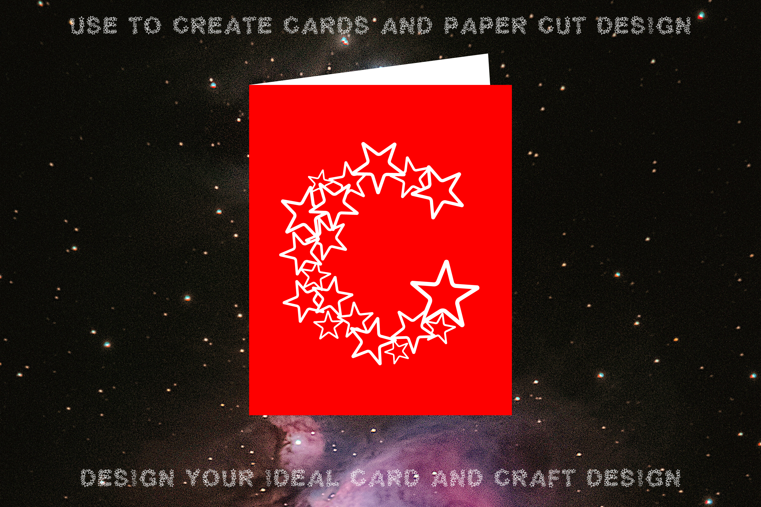 Simply Stars - Alphabets Star Font For Crafters example image 2