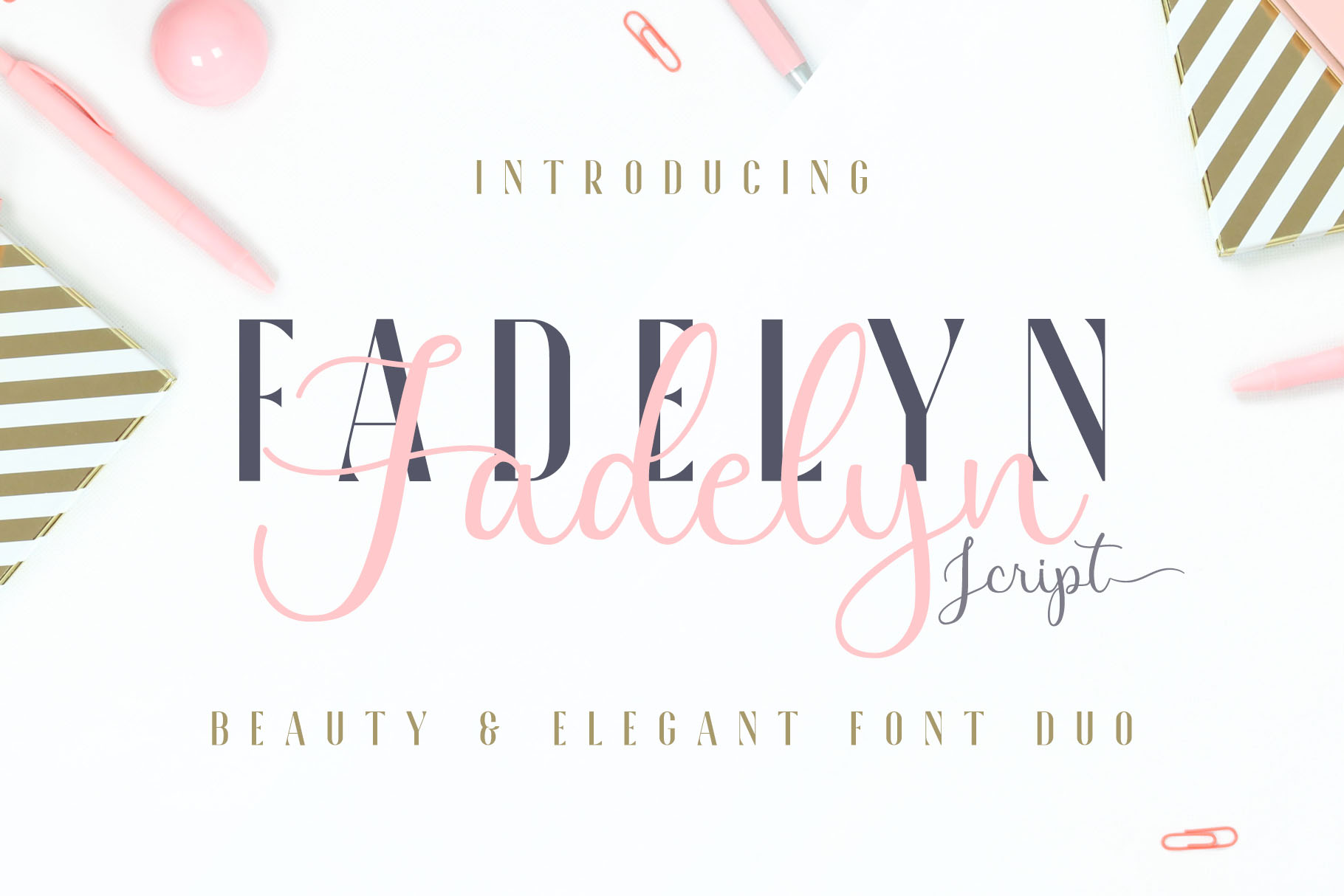 Fadelyn - Font Duo example image 1