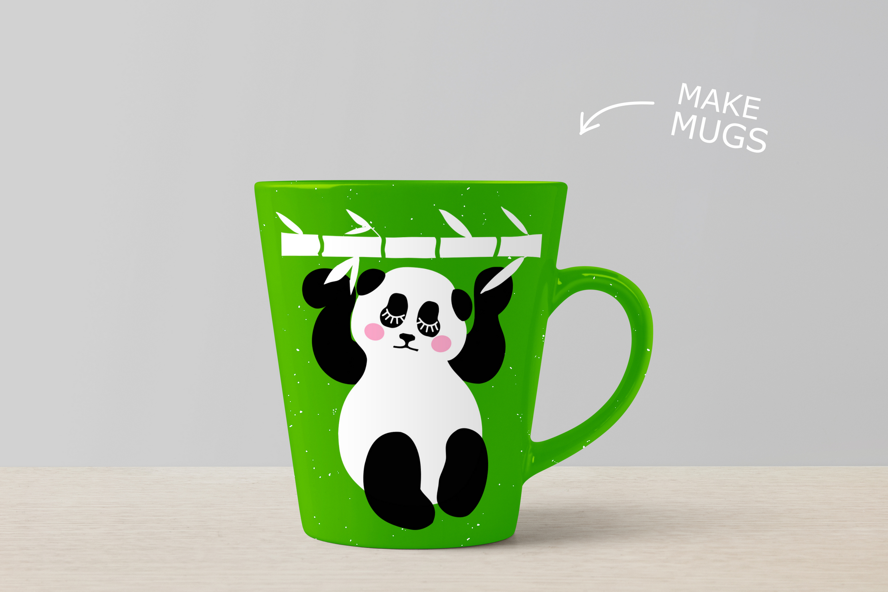 Panda Bundle SVG DXF EPS PNG example image 3
