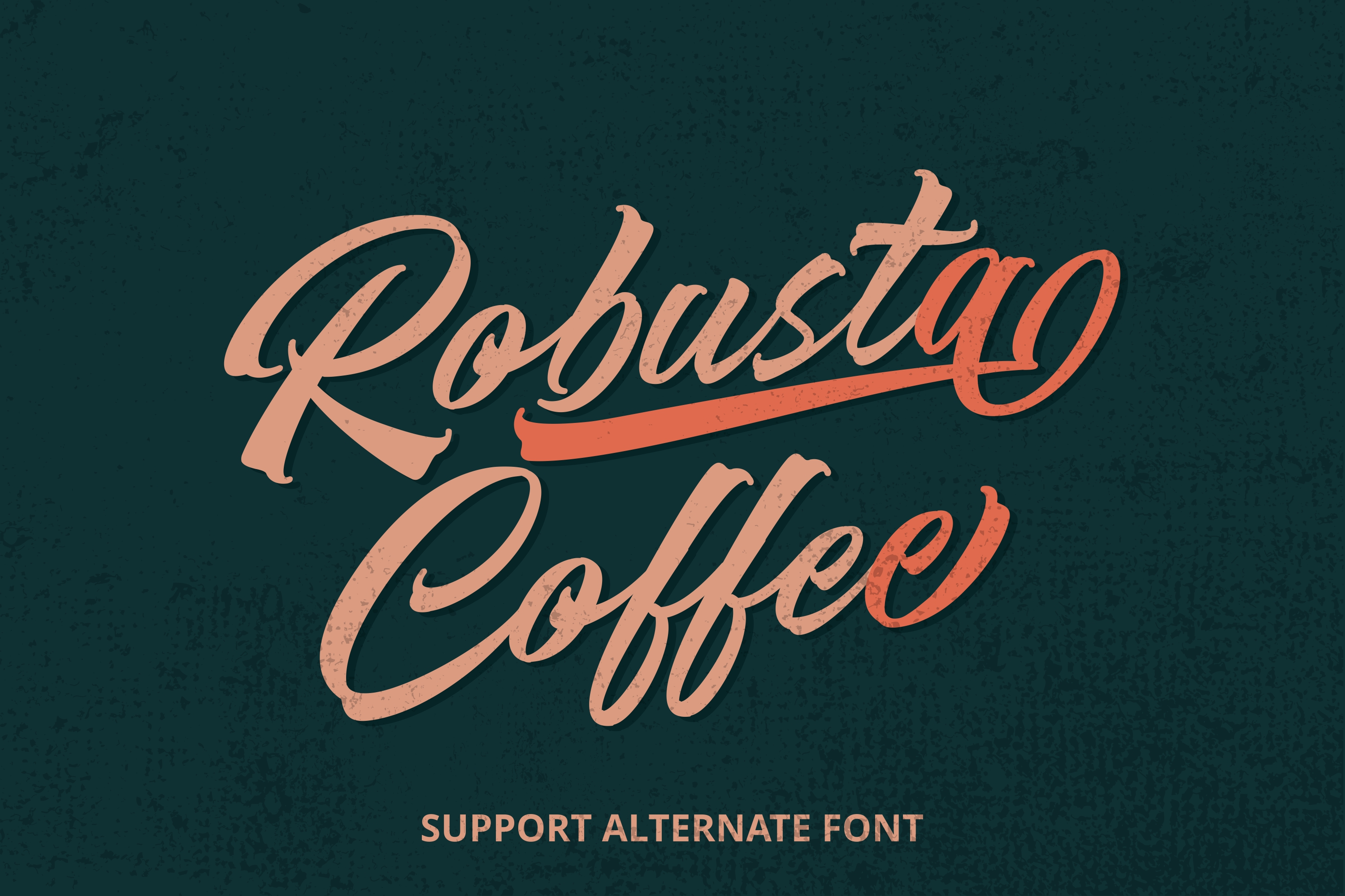 Backend Script Font example image 4