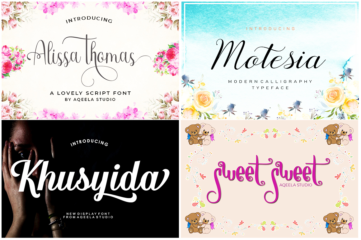 FONT BUNDLE COLLECTION example image 2