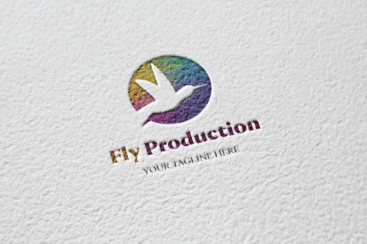 Bird Flying Logo example image 3