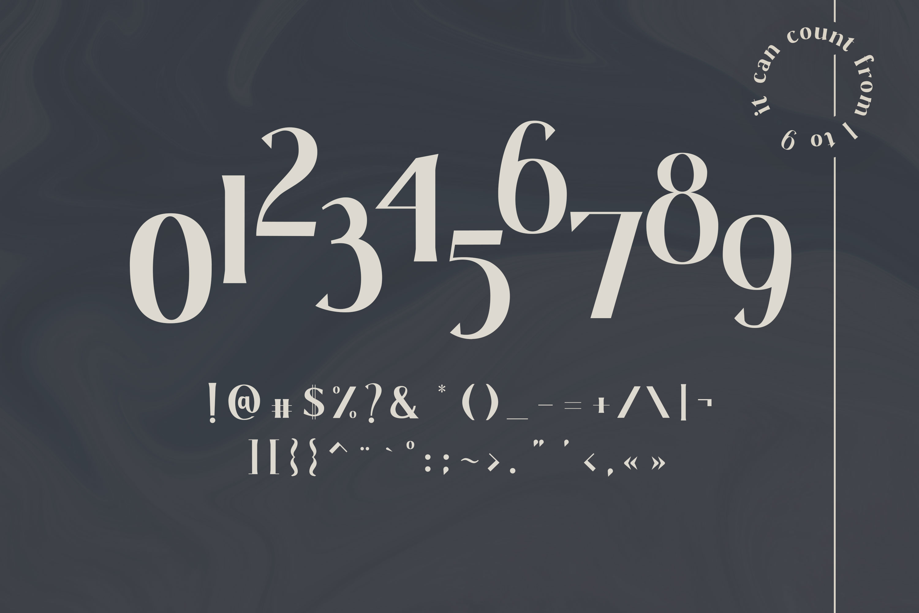 Gaskin - A Wedge Serif Font example image 4