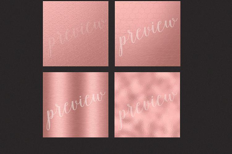 Rose Gold Foils - Rose Gold Backgrounds example image 3