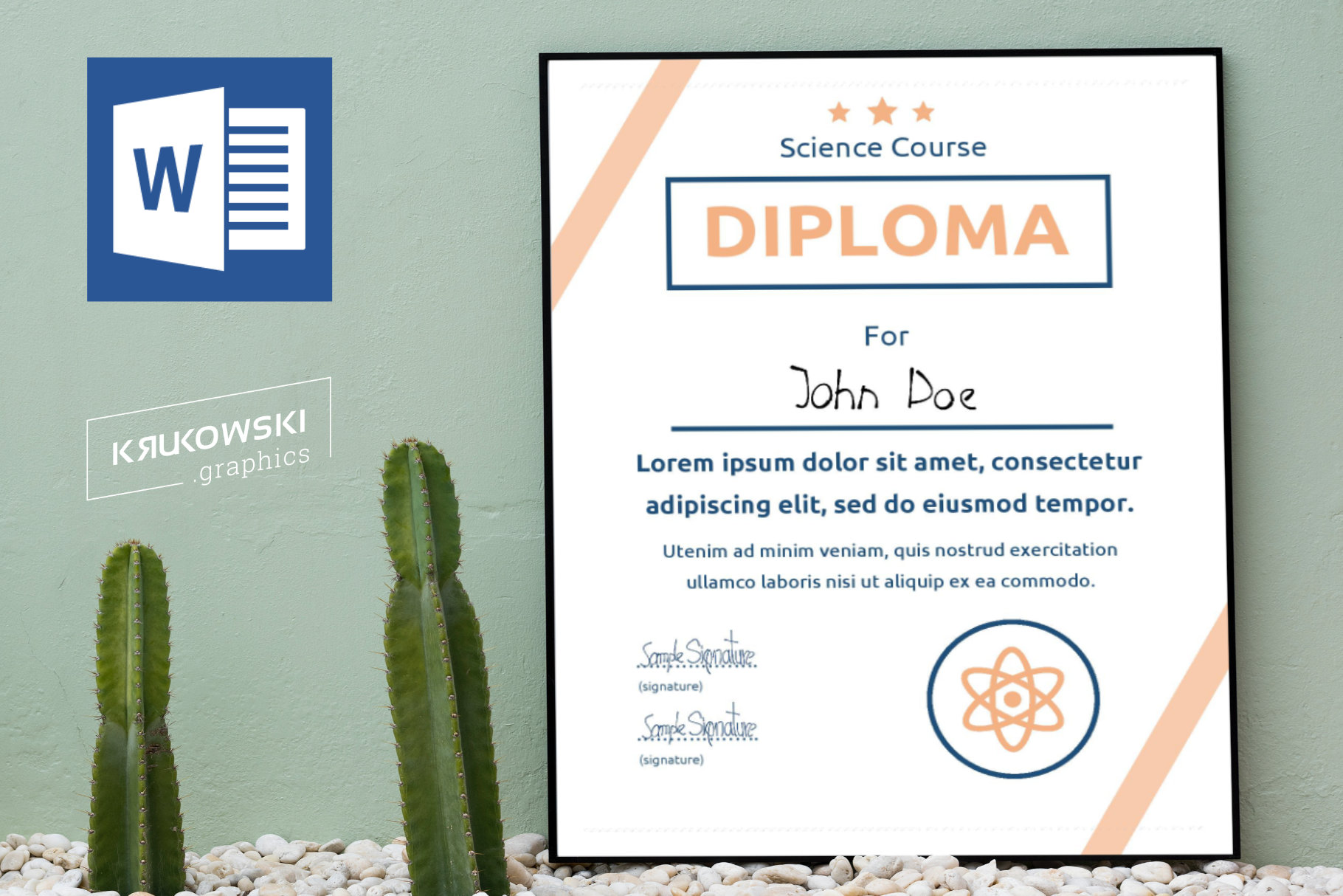 10 Diploma Templates .doc Bundle Pack 50 off example image 5