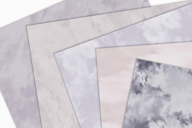 Pastel Painterly Textures - 15 Brushstroke Backgrounds example image 2