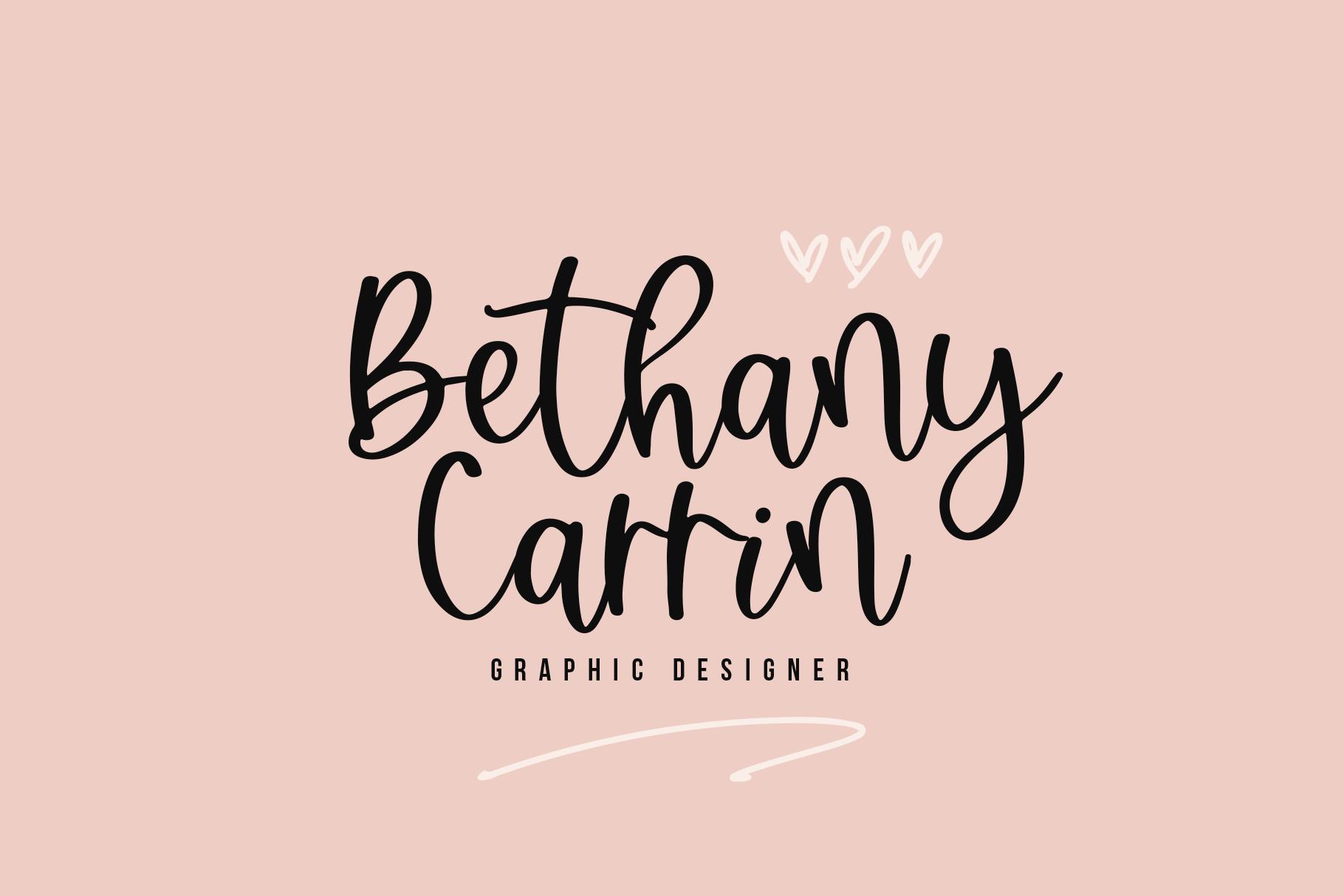 Brightside - A Bouncy Handwritten Script Font example image 5