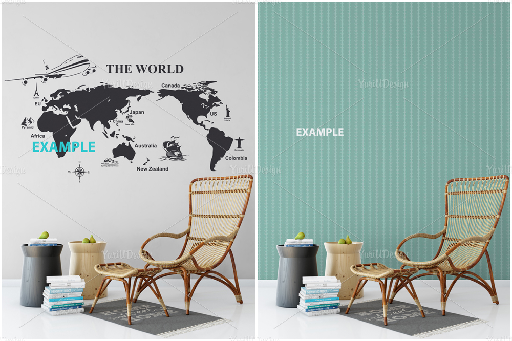 Wall Mockup - Bundle Vol. 1 example image 3