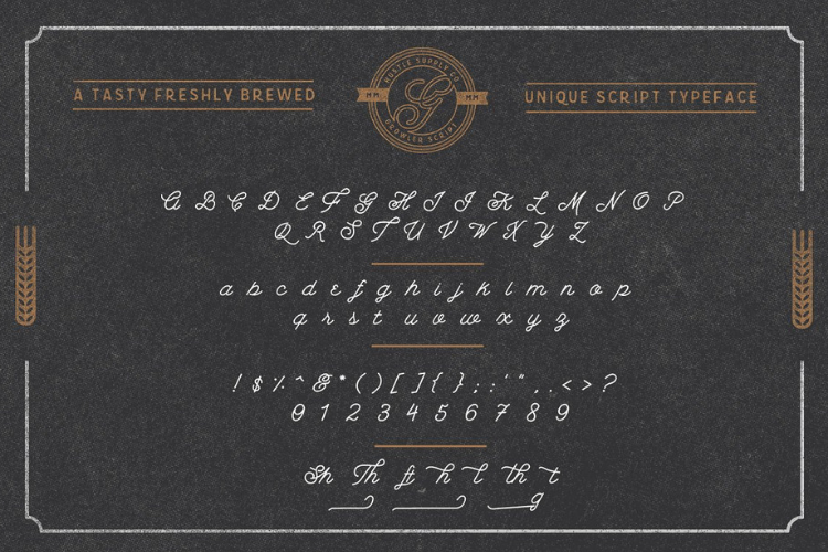 Growler Script - Font example image 2