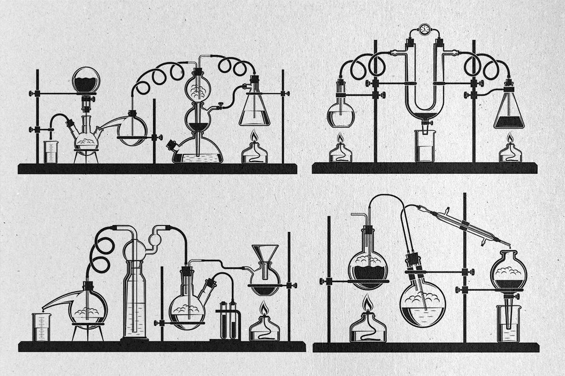 Chemistry design bundle example image 2
