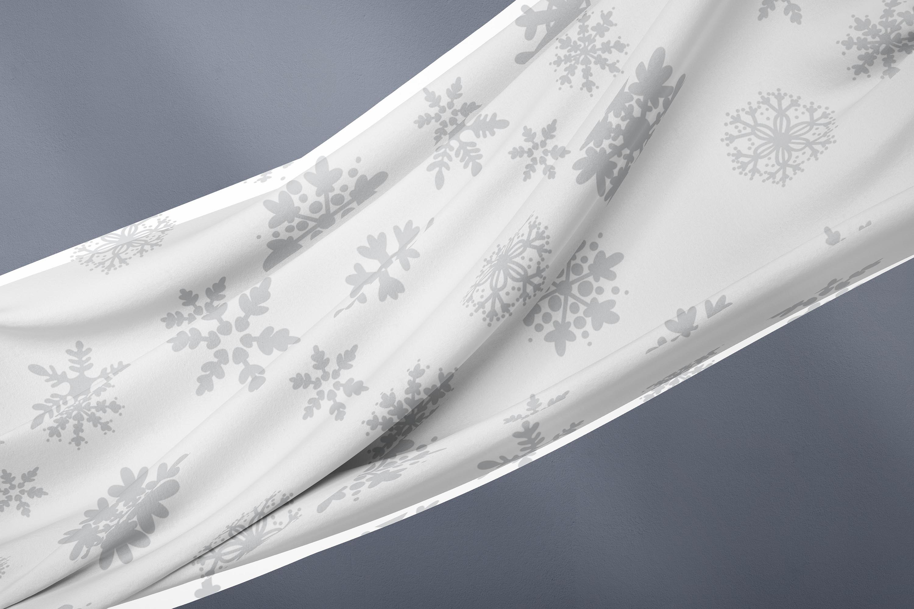 Cute Snowflakes - Winter Doodle Patterns example image 3