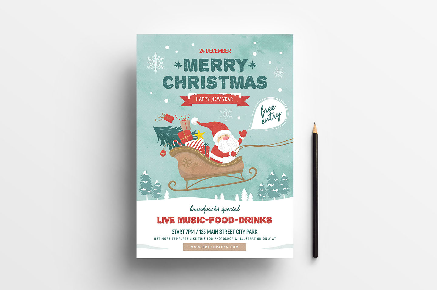 Christmas Poster example image 2