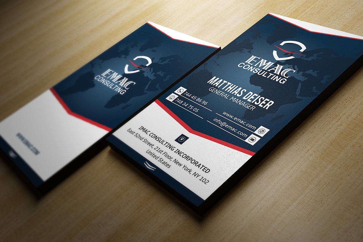 Clean Business Card example image 2