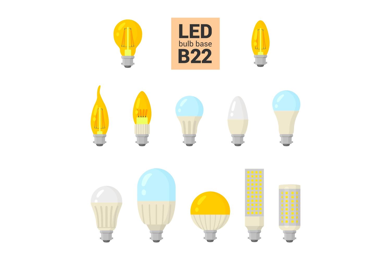 147 colorful LED light bulbs example image 4