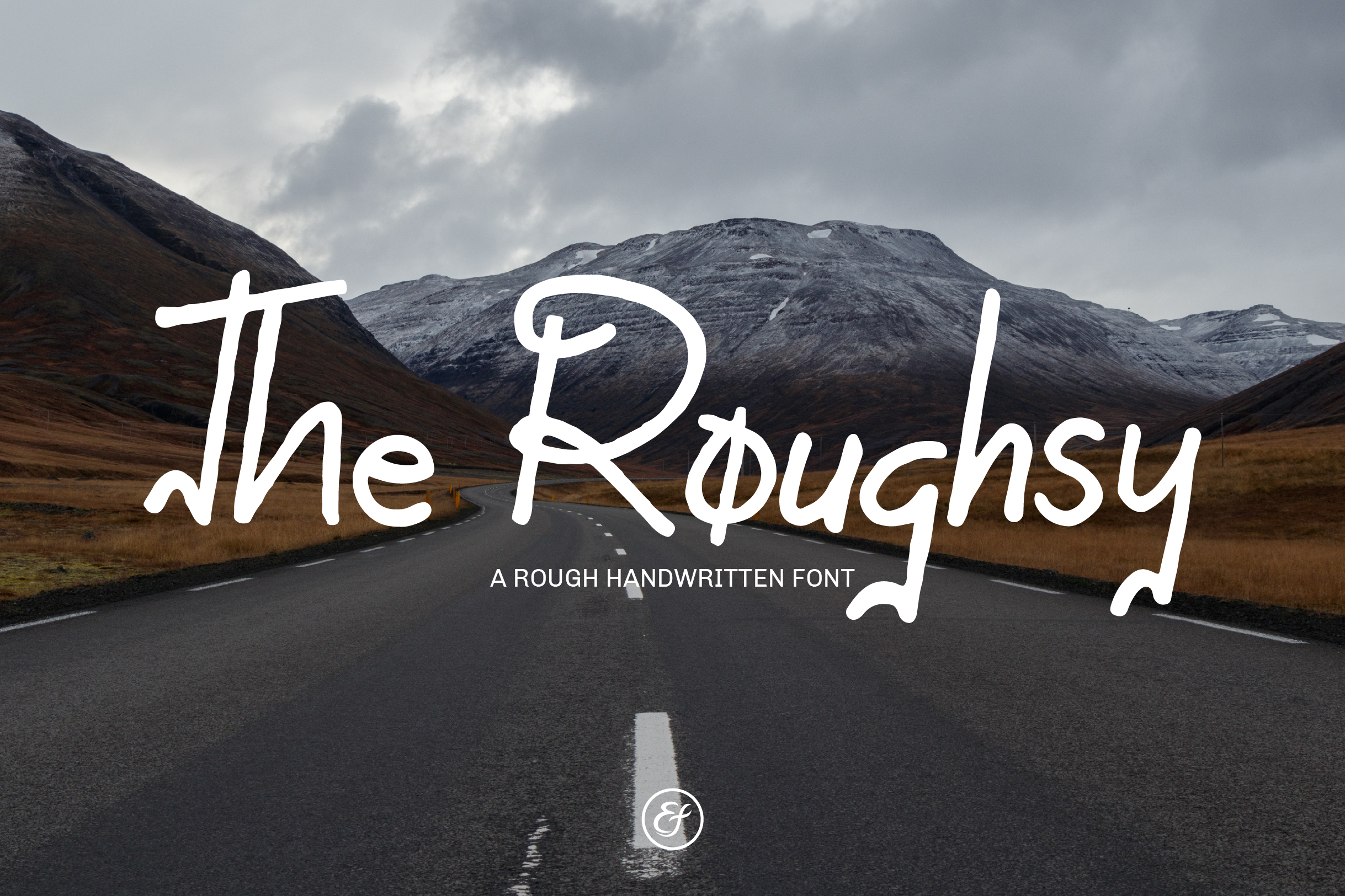 The Roughsy - Handwritten Font example image 1