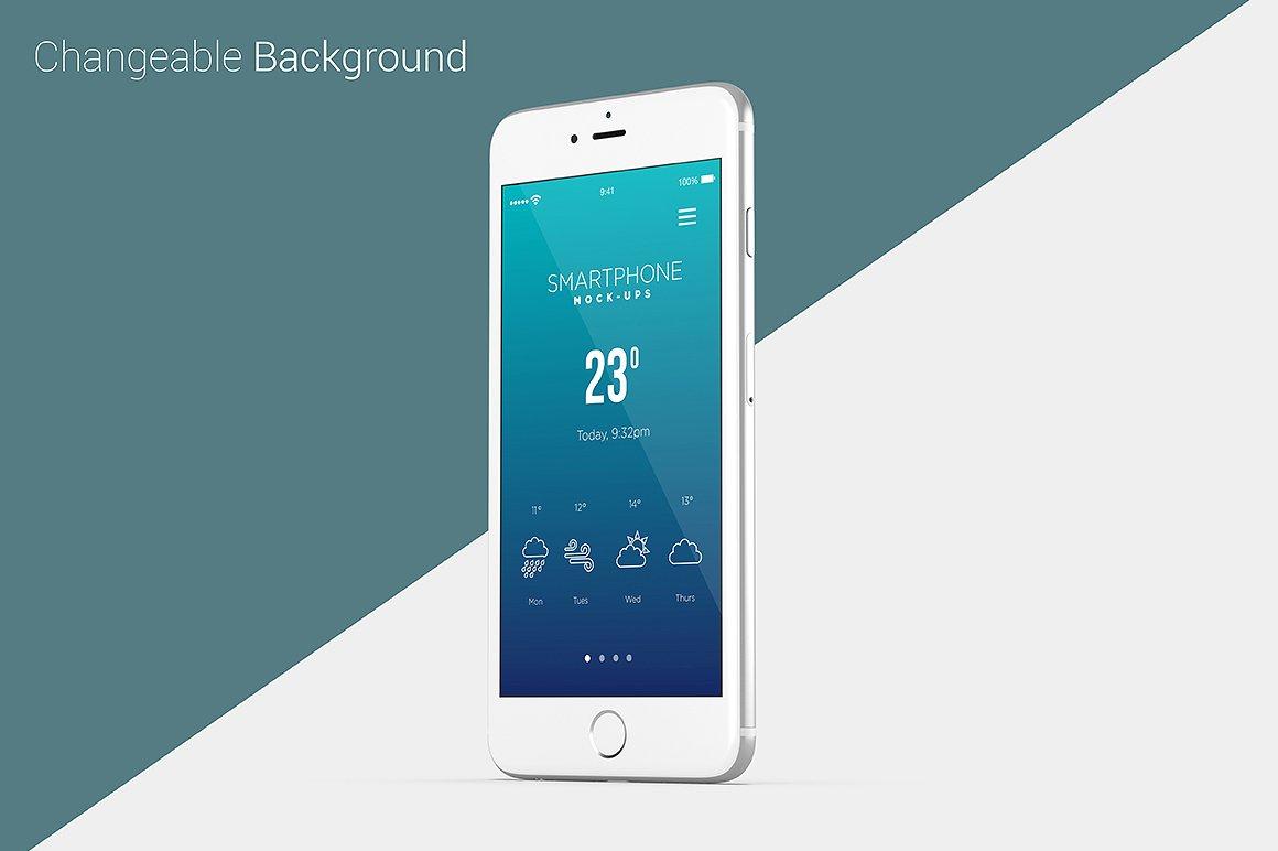 Smartphone Mock-Ups example image 9