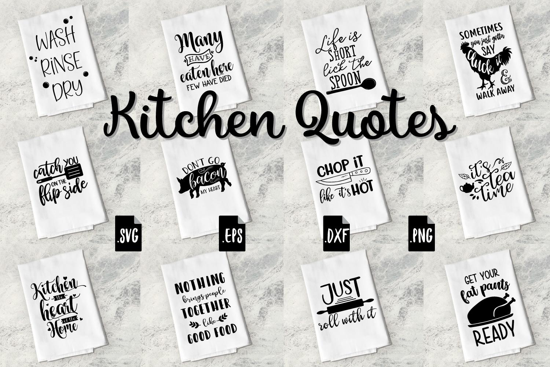 Funny Kitchen Quotes Bundle Svg Eps Dxf Png 137803 Svgs Design Bundles