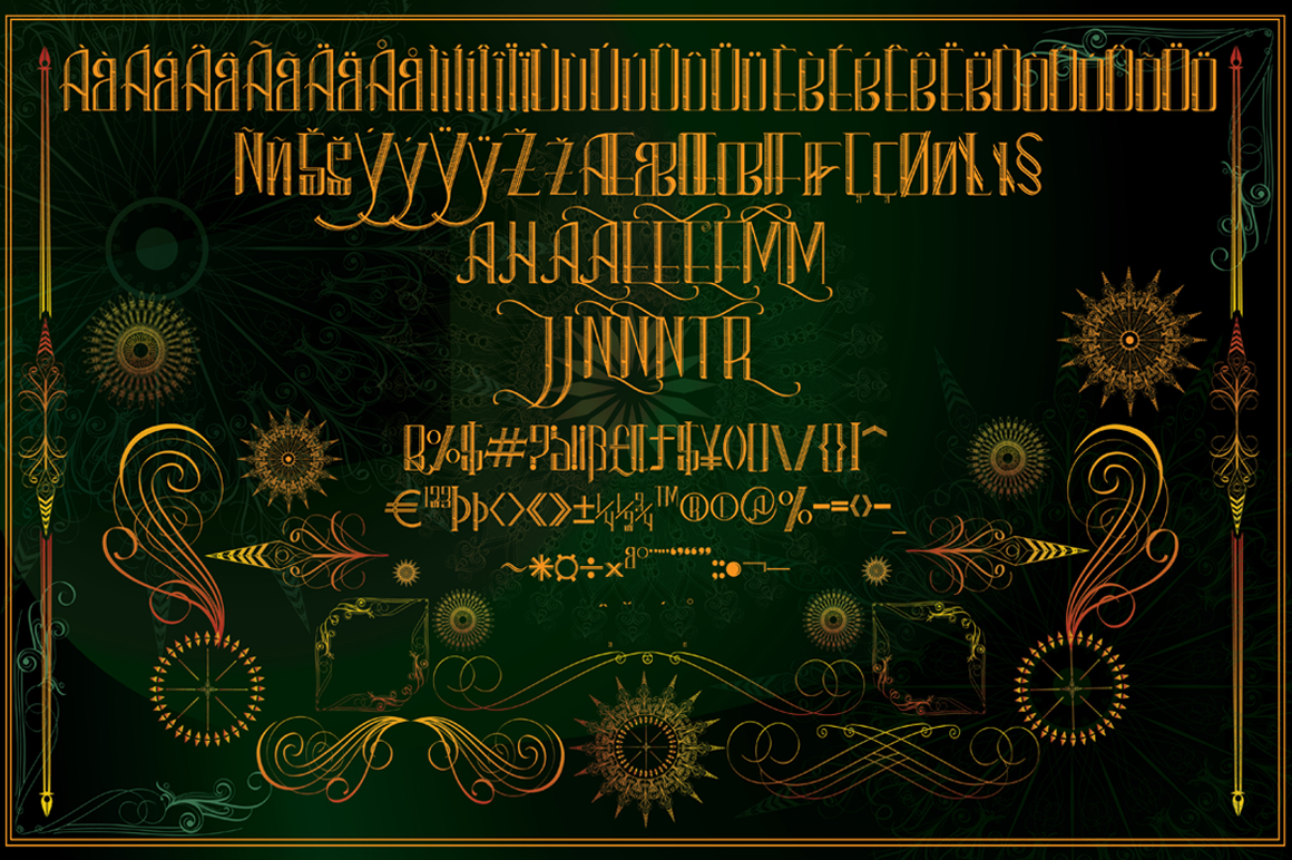 clementine typeface example image 4