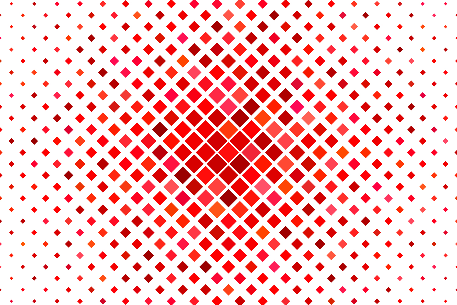 24 Red Square Patterns (AI, EPS, JPG 5000x5000) example image 2