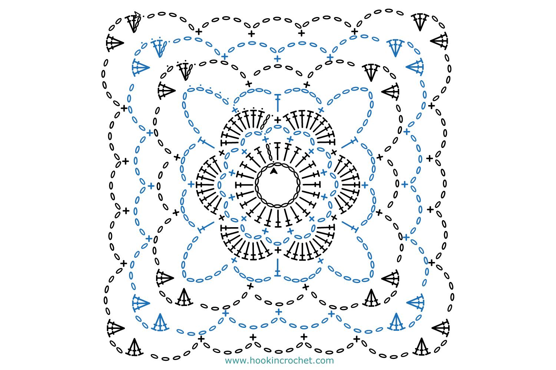 HookinCrochet Symbols 1 Font Software example image 4