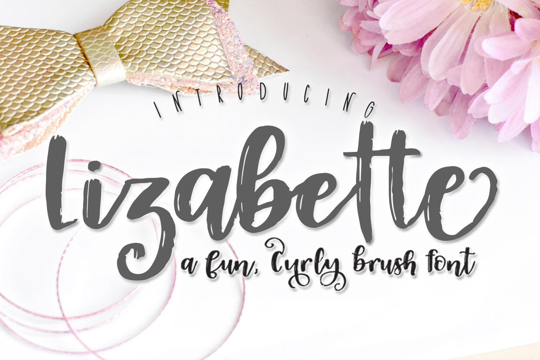 Lizabette Font example image 1