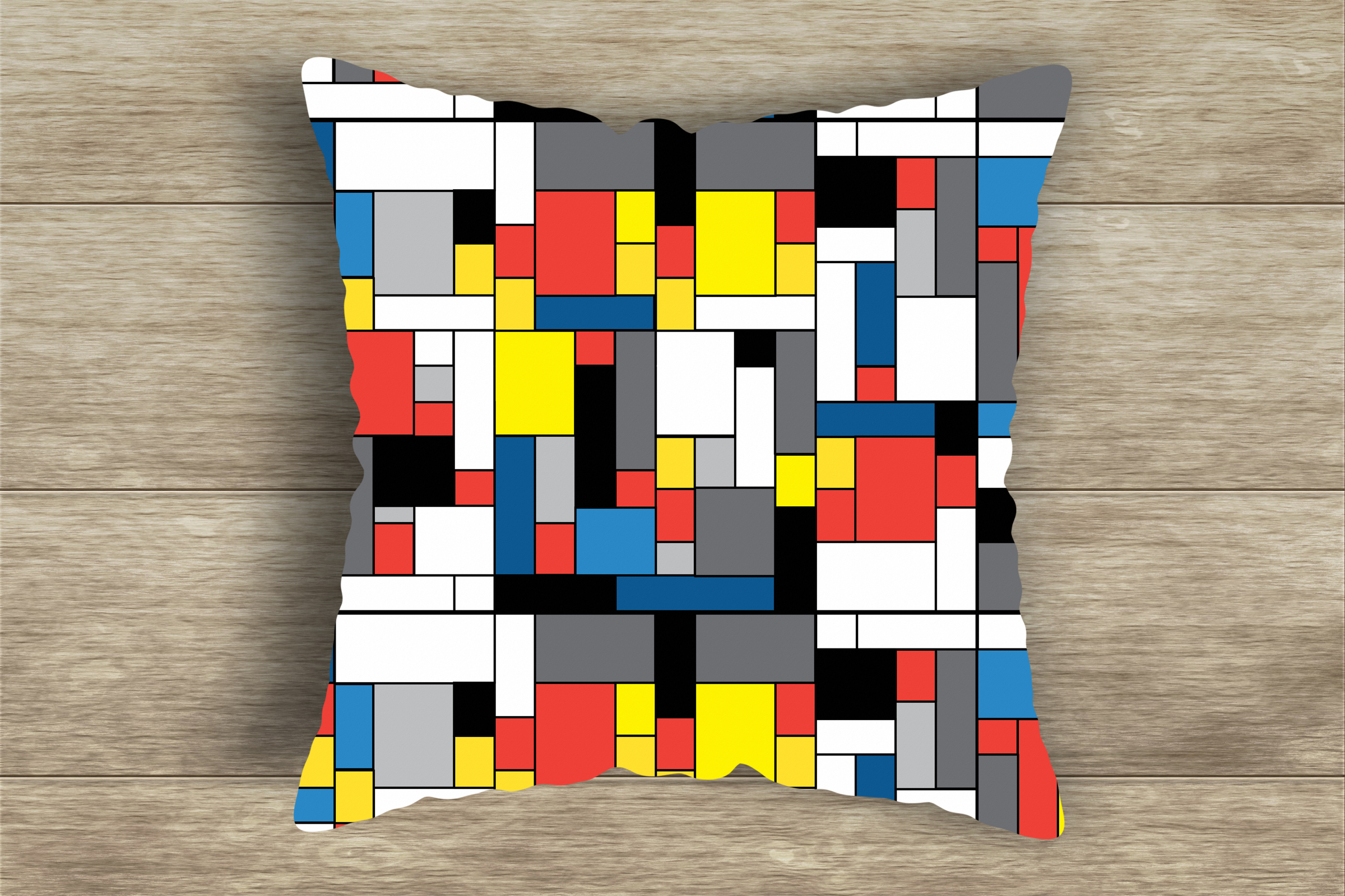 Bauhaus/Mondrian Style Geometric Digital PAPERS example image 5