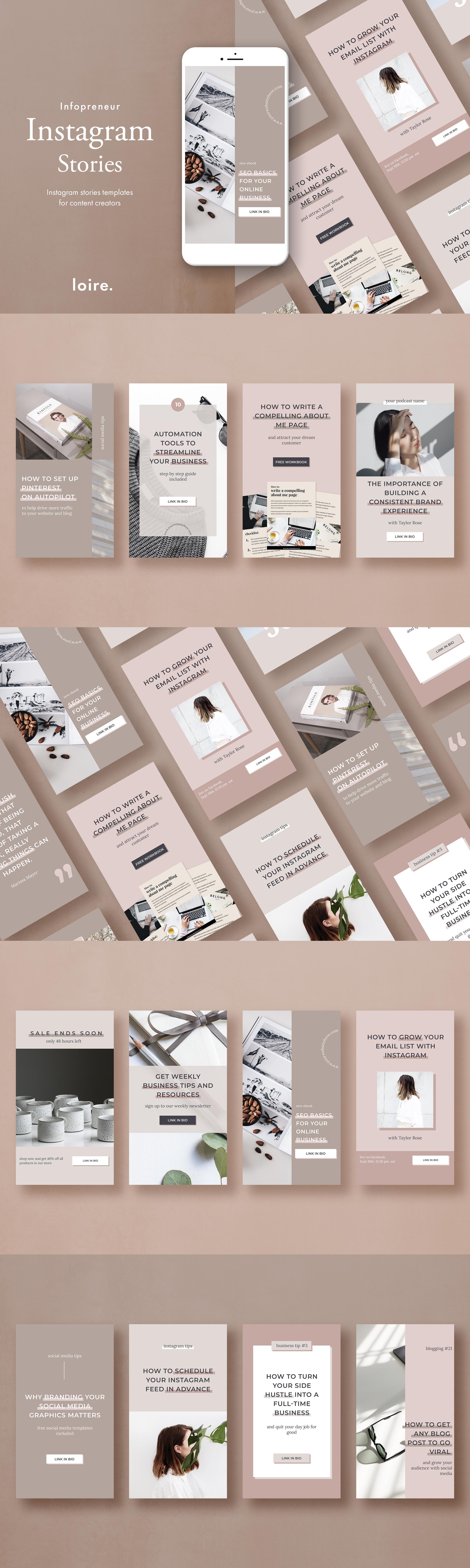 Instagram marketing bundle for bloggers example image 8
