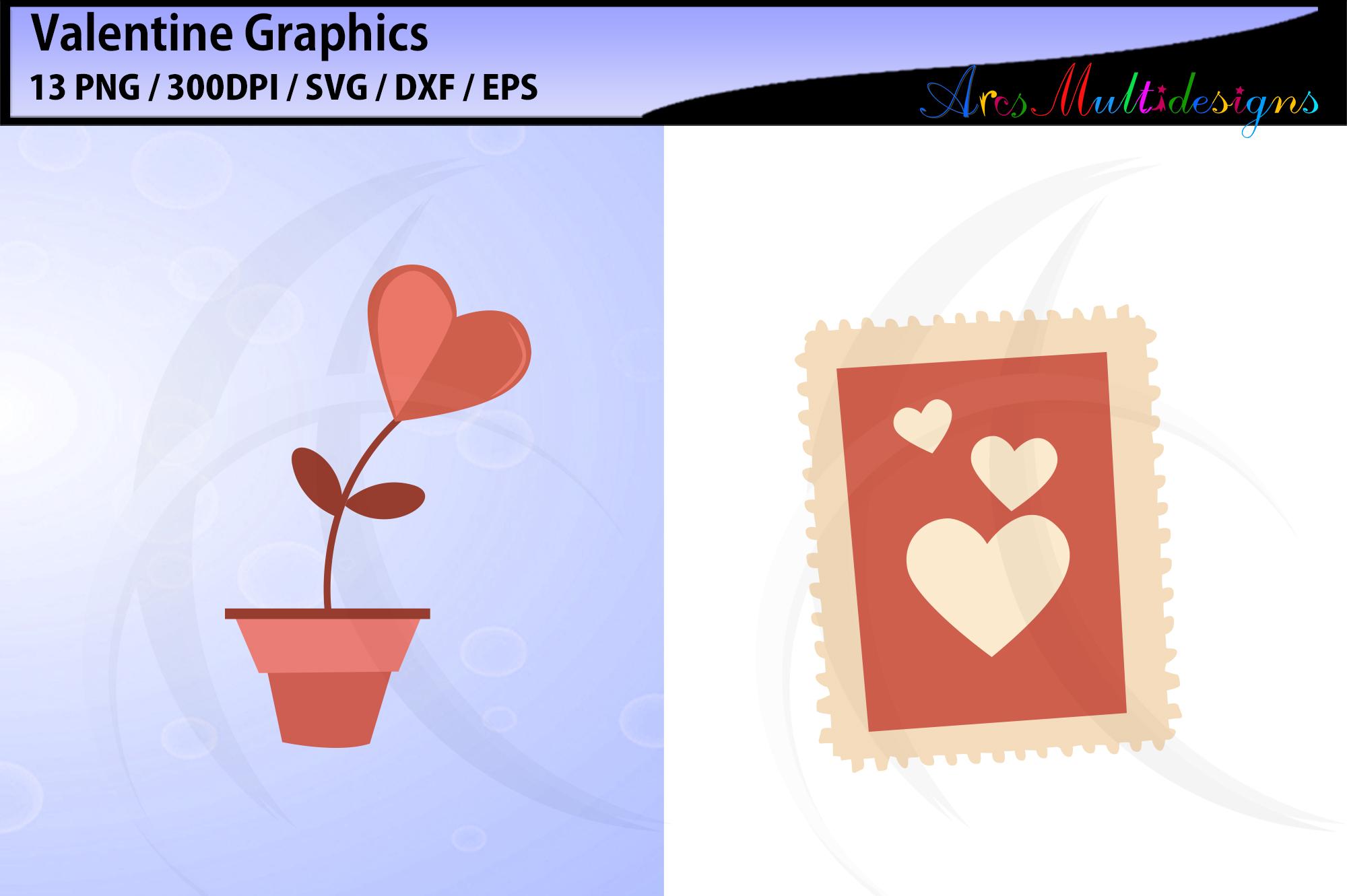 valentine svg / valentine graphics / valentine's day clipart example image 2