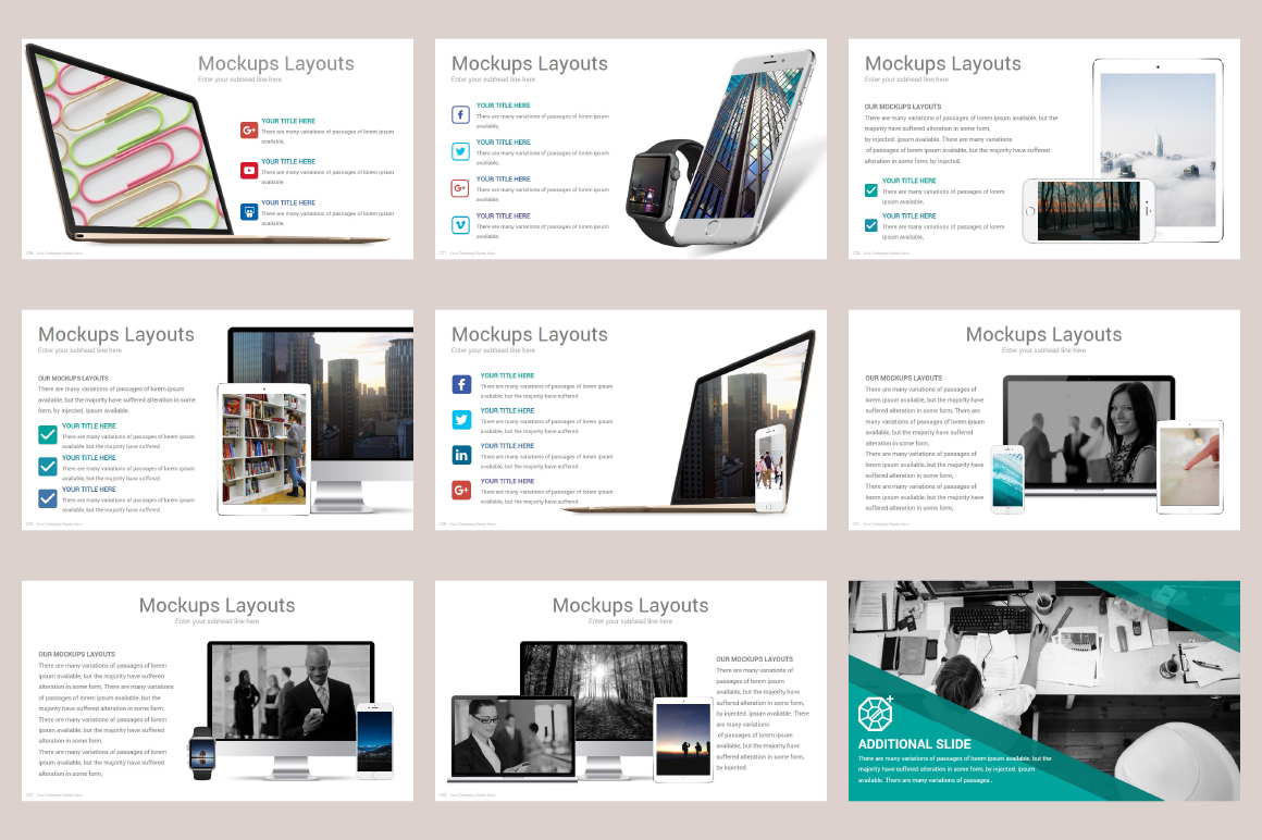Zagros Keynote Template example image 30