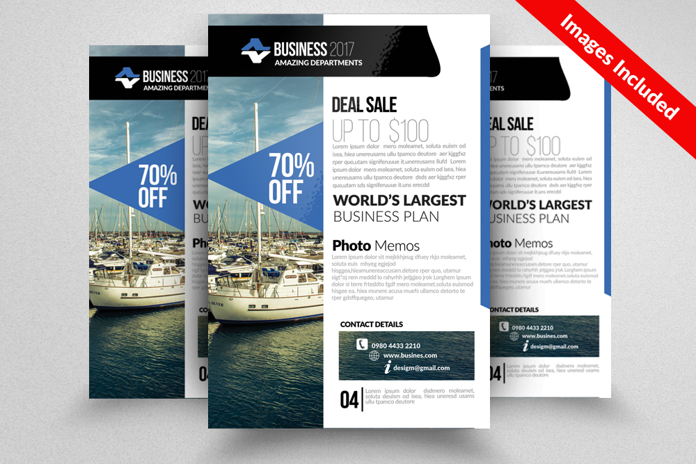 Apartment & Condominium Flyer Templates example image 1