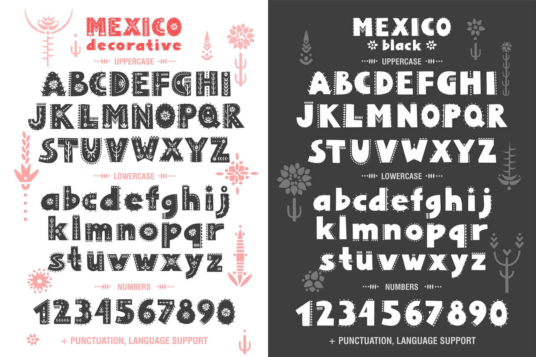Mexico - Font Family example image 2