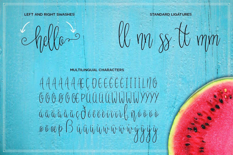 Melonade Font example 2