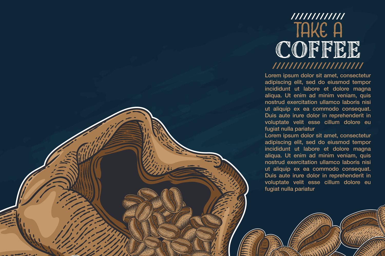 15 designs - Coffee restaurant brochure vector, coffee shop example image 9