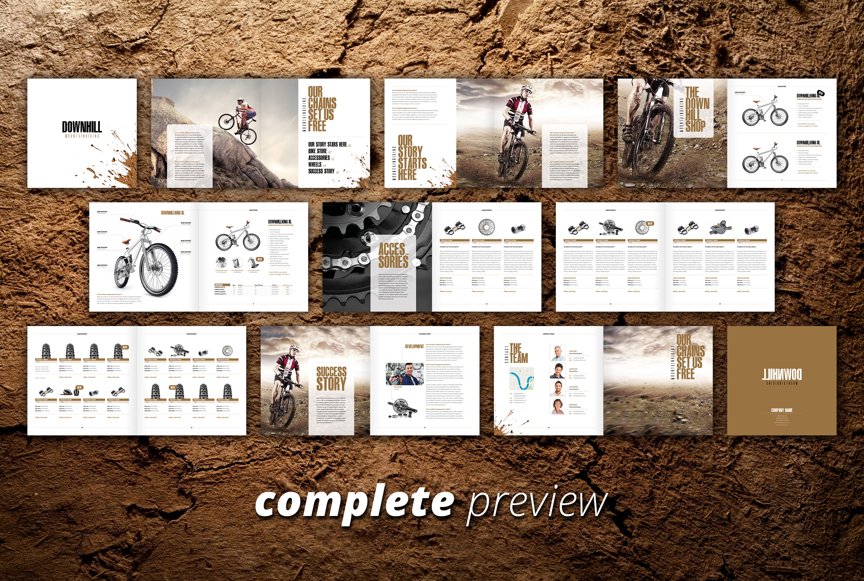 Downhill - Sales & Image Brochure example image 3