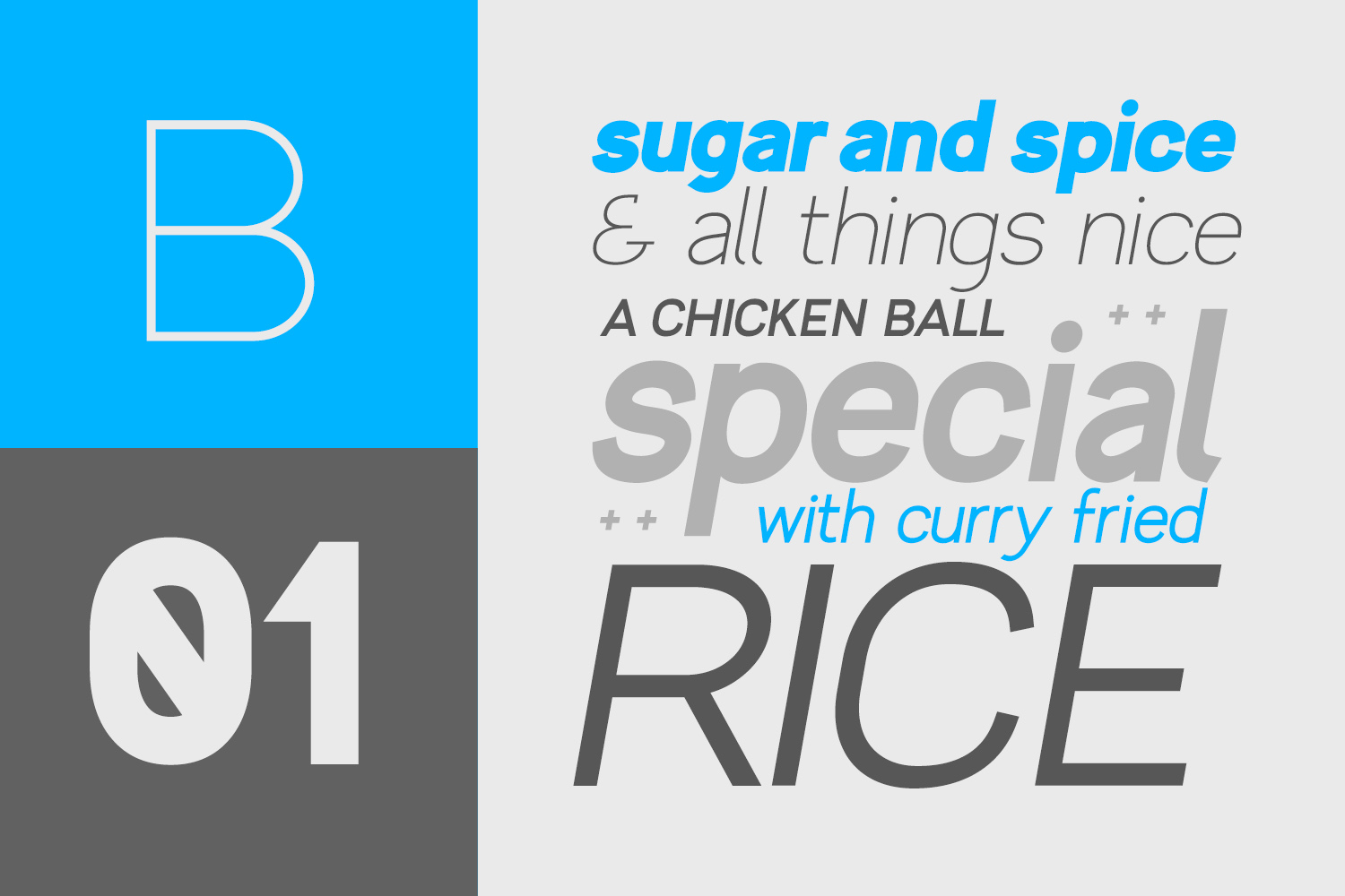 Brada - A Powerful Sans Font Family example image 3